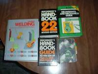 Modern welding $30.00 OBO Machinery's handbook with