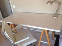 West Elm desk and Zuo office chair, purchased less than