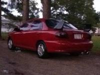 I have a Modified 2001 Kia Sephia for sale or trade.