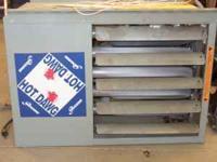 modine big daawg garage furnace ,mounts to ceiling