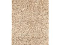 The shag rug has made a come back, and this accent rug