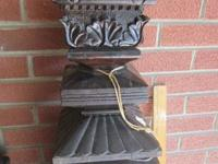 Beautiful mohogany ballister/newal post and railing.