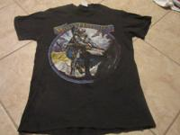 Molly Hatchet The Deed is Done 85- 86 tour shirt