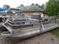 MonArk Party Barge 16ft no motor. Short term layaway