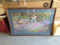 Monet Framed Print. Downsizing.
