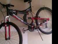 Like new Mongoose 20 speed bike. It has only been