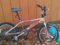 Mongoose hoop D. Bikes in good shape lubed chain, n air