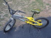 This is a Mongoose all aluminum frame BMX bike. Has 20""