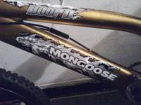 mongoose bike gold mongoose asking 100 text  any time