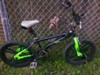 I have a great green and black bike i have to get rid