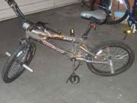 Silver Mongoose bike for sale $25.00. Call or text .