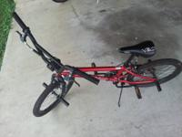 Mongoose Mode90 BMX bike in near new condition. I