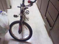 I have for sale mongoose bmx bike all black with red