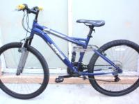 "MONGOOSE DOUBLE SUSPENSION MOUNTAIN BIKE, 26"", multiple"