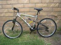 MONGOOSE DXR ELEMENT MOUNTAIN ALUMIMUN FRAME BIKE 21