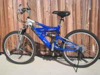 Up for sale is a Mongoose Full Suspension Mountian