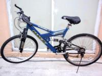 MONGOOSE MGX DXR DUAL SUSPENSION MOUNTAIN BIKE, 26""