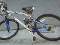 Mongoose mountain bike. I originally paid $200..it has