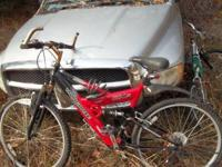 Mongoose X type frame Believe it is a 26 inch . Has