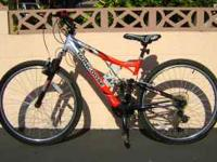 This is a great Mongoose XR-75 racing mountain bike