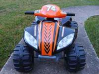 Mongoose Raider Quad 6 volt battery operated ride-on