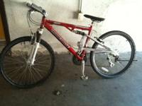 Selling a mountain bike for a real good price. Its a