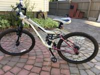 Up for sale is a very nice Mongoose Mountain Bike. 21