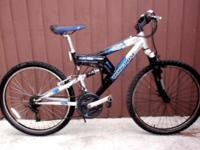 Mongoose XR 200, Aluminum Double suspension Mountain