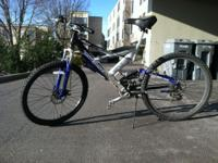 I am selling this mountain bike because I am going to