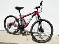 Mongoose Men's 27.5 Mongoose Ledge 2.5 Full Suspension