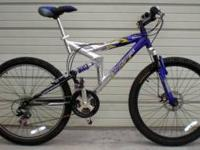 Mongoose XR-200 Dual Full Suspension 21 SPD MTB