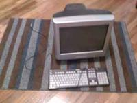 i have a monitor and key board for sale 30.00 obo call