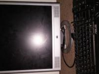 Used HP Monitor and ASIS Keyboard. Good condition Price