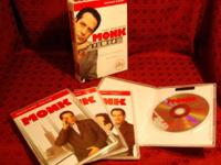 16 episodes on 4 discs: Disc One: 1) Mr. Monk's