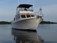 This is the perfect cruising yacht for the Northwest!