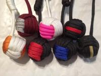 I have for sale Monkey Fist keychains in various colors