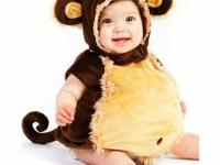 Baby Monkey Costume 12-18 months.