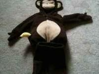 Monkey fleece costume. Asking $25 o.b.o  or email