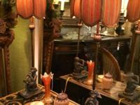 "Monkey Lamps On Sale 31"" High Was $169 Sale Price $136"