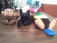 I have a Monkey, Skunk and Toucan Beanie Babys. I am