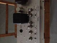 Mono tube amp from kinsman organ. Would be a nice