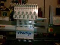 I have a 12 needle commercial monogram machine ,it