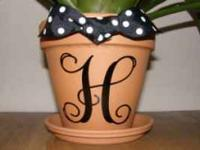 www.stylishmonograms.com you personalize the plant