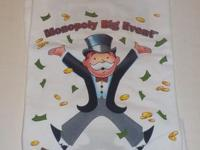 Monopoly Big Event Gaming T Shirt NEVER WORN Asking