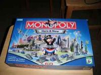 Monopoly Here and Now board game. $5.00. Respond to
