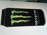 Selling a Monster Can poster. I bought it from a gas