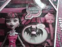 I have for sale a Monster High doll named Draculaura.