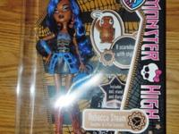 ROBECCA STEAM - Monster High Doll -- FIRST EDITION -