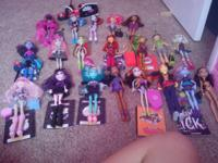 Selling my children Monster High dolls! I have? the