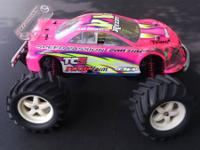 I have a Traxxas T-maxx 2.5 with a Mazda 6 body for